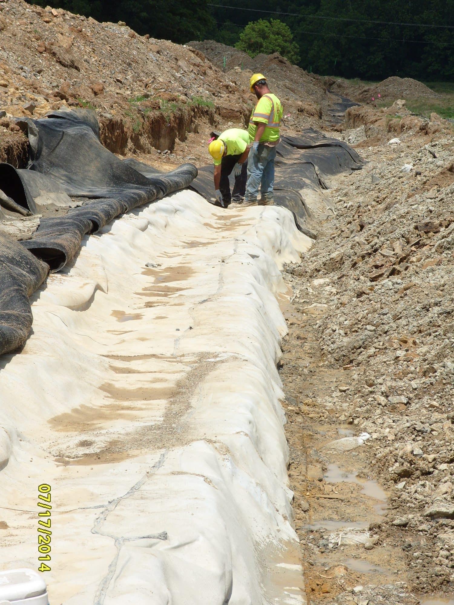frederick co  landfill leachate lagoon  u0026 drainage