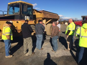 12-17-14 OTR Tire and Rim Safety Training during OSHA 30 hr Class