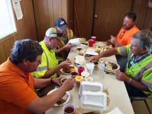 5-2015 Mike Clems crew-March lunch