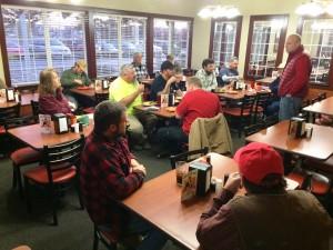 1-15-16 Wayne Anderson-Tyler Smith crews at Golden Corral
